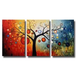 Life-Tree-V-Oil-Paint-3-piece-Canvas-Art-Set-P13684729